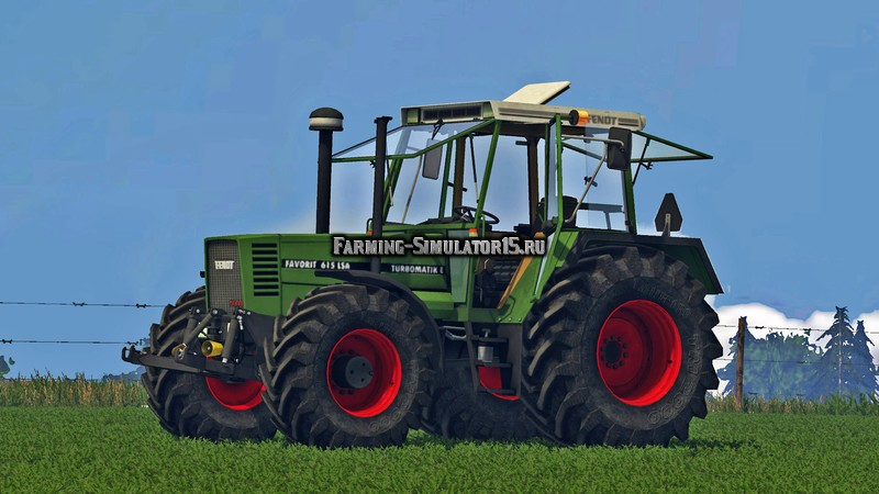 Мод трактор Fendt Favorit 615 LSA v 1.0 Farming Simulator 2015