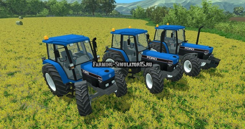 Мод трактор Ford 40 Serie v 1.0 Farming Simulator 2015