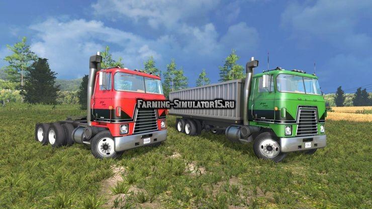 Мод грузовики International Transtar II v 1.2 Farming Simulator 15
