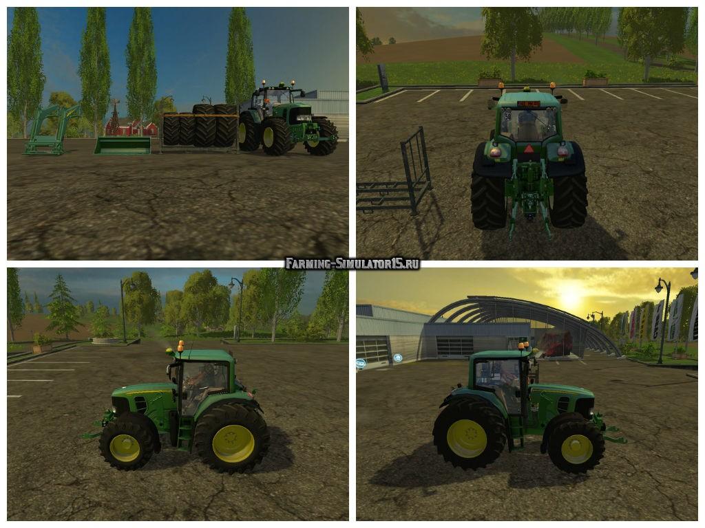 Мод трактор John Deere 6930 V 1.1 Farming Simulator 15