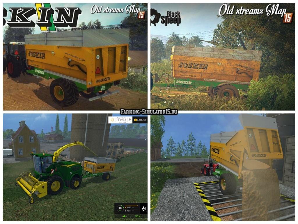 Мод прицеп Joskin Trans-CAP 5000/14 v 1.1 Farming Simulator 2015