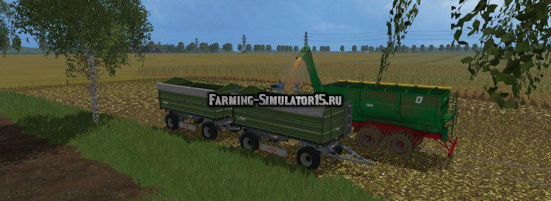 Мод прицеп Kroeger TUW 20 v 1.0 Farming Simulator 2015
