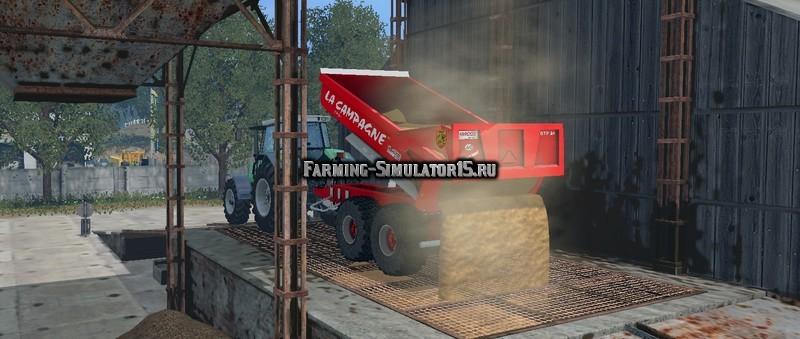Мод прицеп La Campagne BTP24 v 1.1 Wiht WheelShader Farming Simulator 2015
