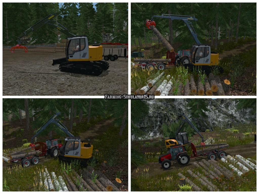 Мод Liebherr 914 Compact v 1.0 Farming Simulator 2015