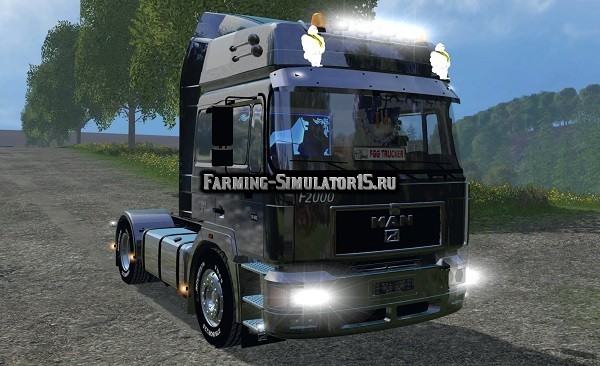 Мод грузовик MAN F2000 19-603 v 1.3 Farming Simulator 15