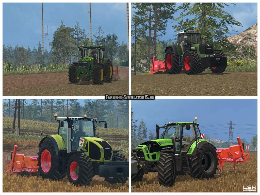 Мод культиватор Maschio Attila Hydro 300/7 v 1.0 Farming Simulator 15