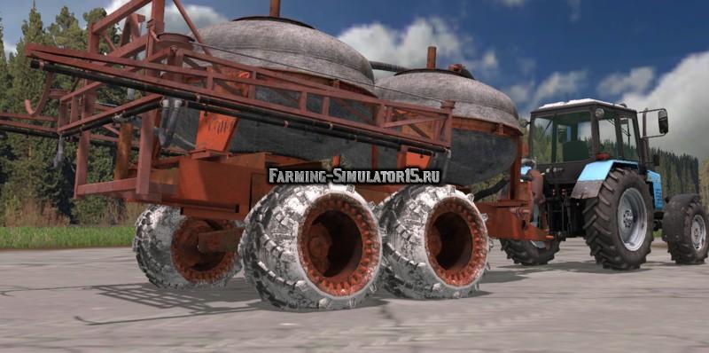 Мод опрыскиватель PZHU 9 v 1.0 Farming Simulator 2015