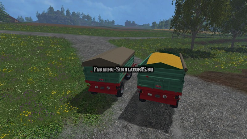 Мод прицеп Reisch RD 80 v 1.1 Farming Simulator 15