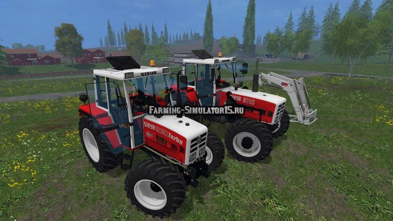 Мод трактор STEYR 8110A Turbo SK2 Electronic v 1.0 Farming Simulator 15