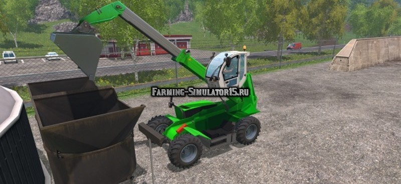 Мод погрузчик Sennebogen Telelader v 1.0 Farming Simulator 2015