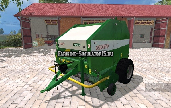 Мод тюкопресс Sipma Farma Z276/1 v 2.0 Farming Simulator 15