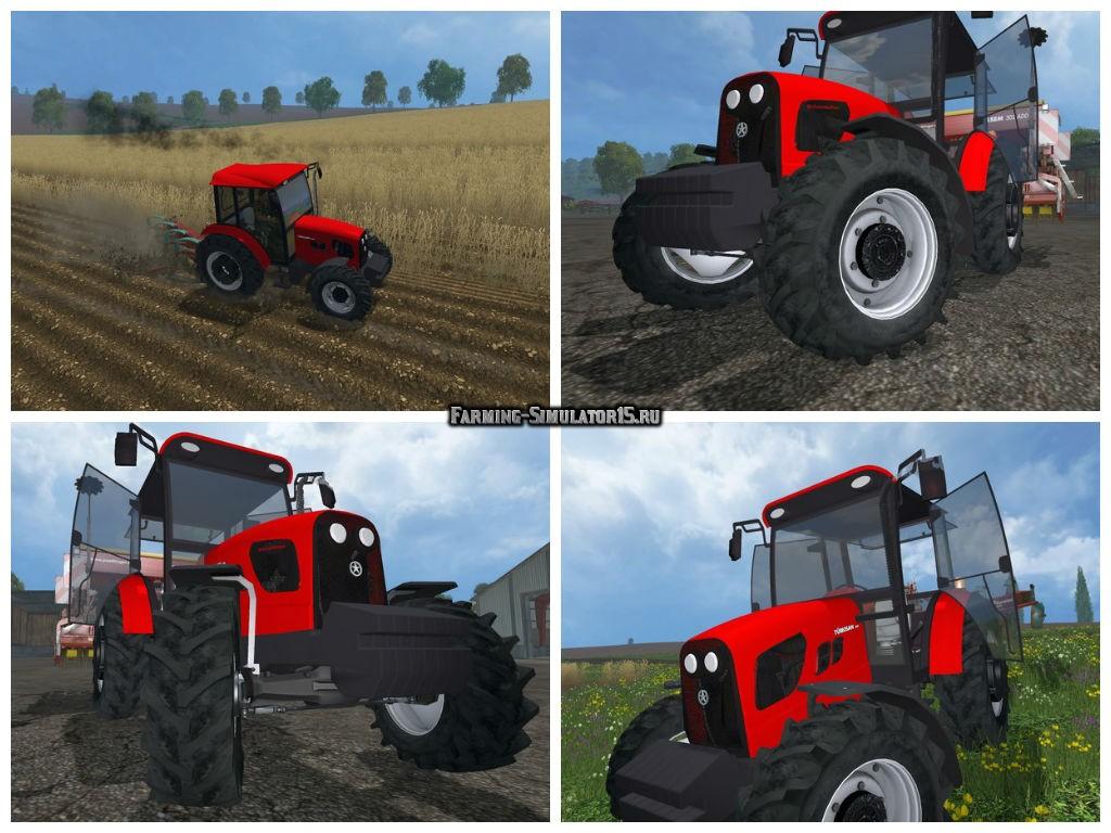 Мод трактор Tumosan 8105 4WD v 2.0 Farming Simulator 2015