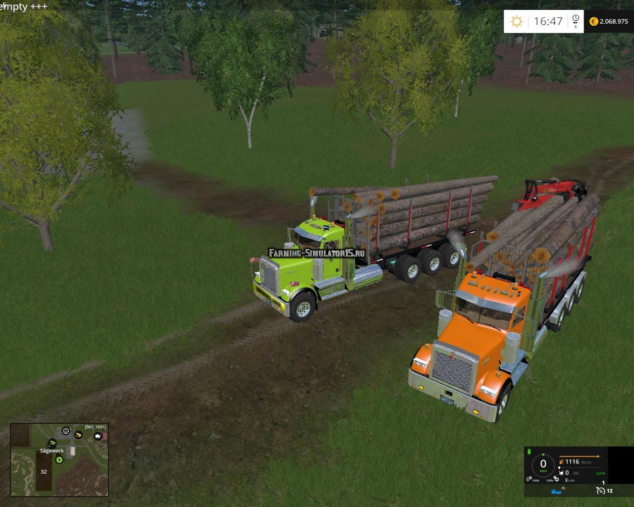 Мод кузов Transp Maderero ITRunner v 1.0 Farming Simulator 15