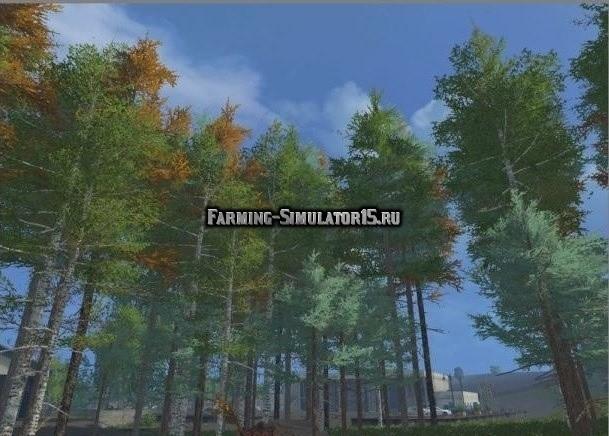 Мод Tree seedlings v 1.5 Farming Simulator 15