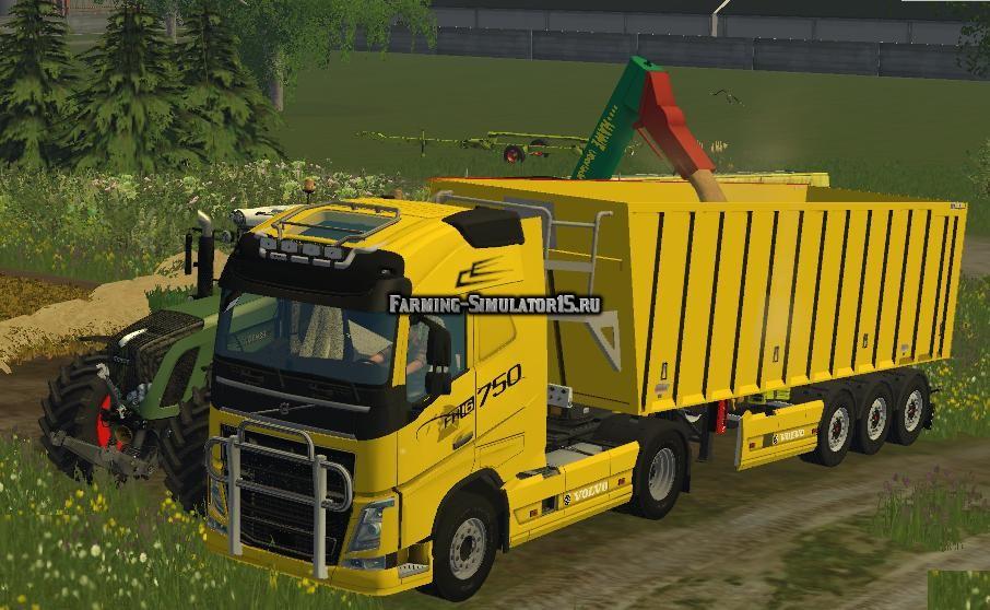 Мод грузовик Volvo FH16 v 1.0 Farming Simualtor 15