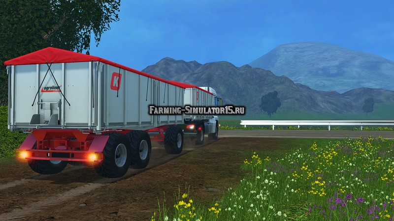 Мод скрипт Warning Light Extension v 1.0 Farming Simulator 15