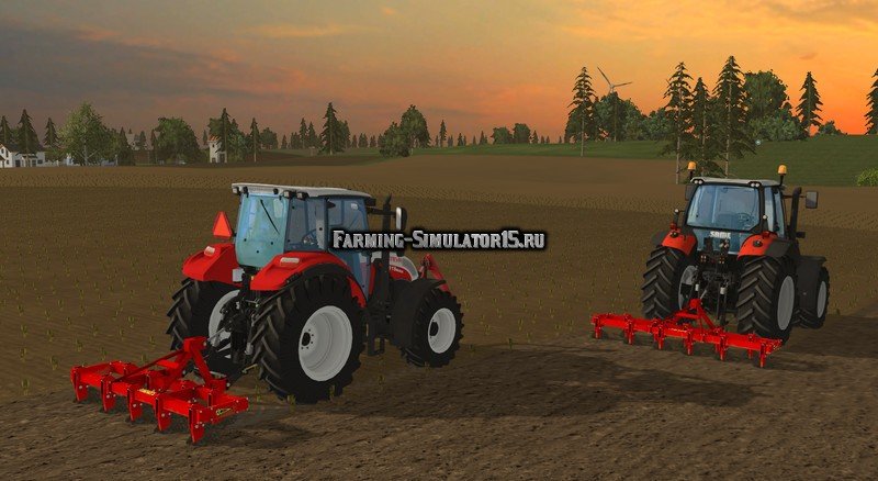 Мод культиваторы Wifo Ks Cultivator Pack v 1.0 Farming Simulator 15