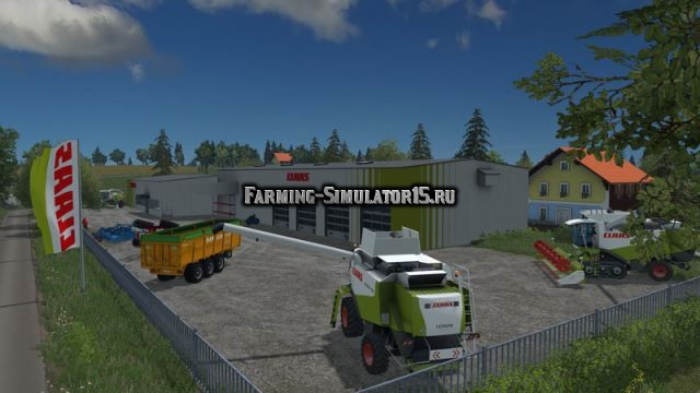 Мод Concession Claas v 1.0 Farming Simulator 2015