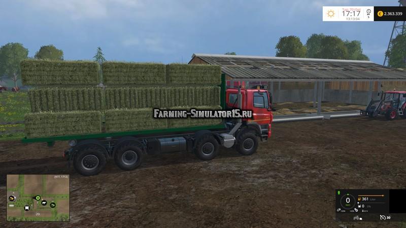 Мод платформа ITRunner Plateau v 1.1 Farming Simulator 2015