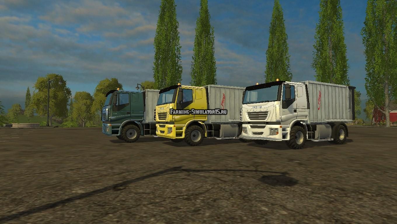 Мод грузовик Iveco Stralis LowCab V8 Farming Simulator 15