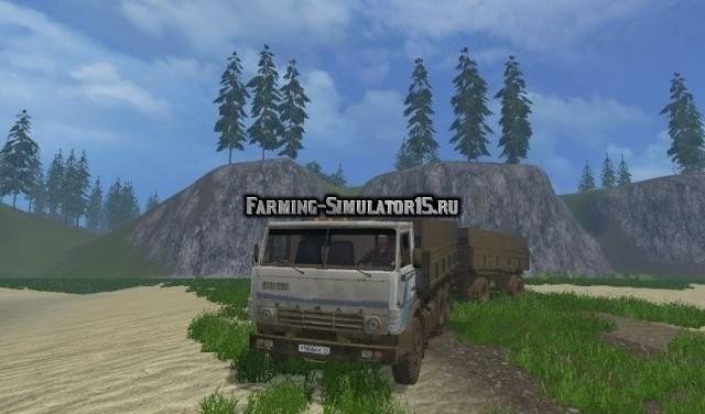 Мод грузовик Камаз 5320 & Нефаз 8960 v 3.0 Фермер Симулятор 2015