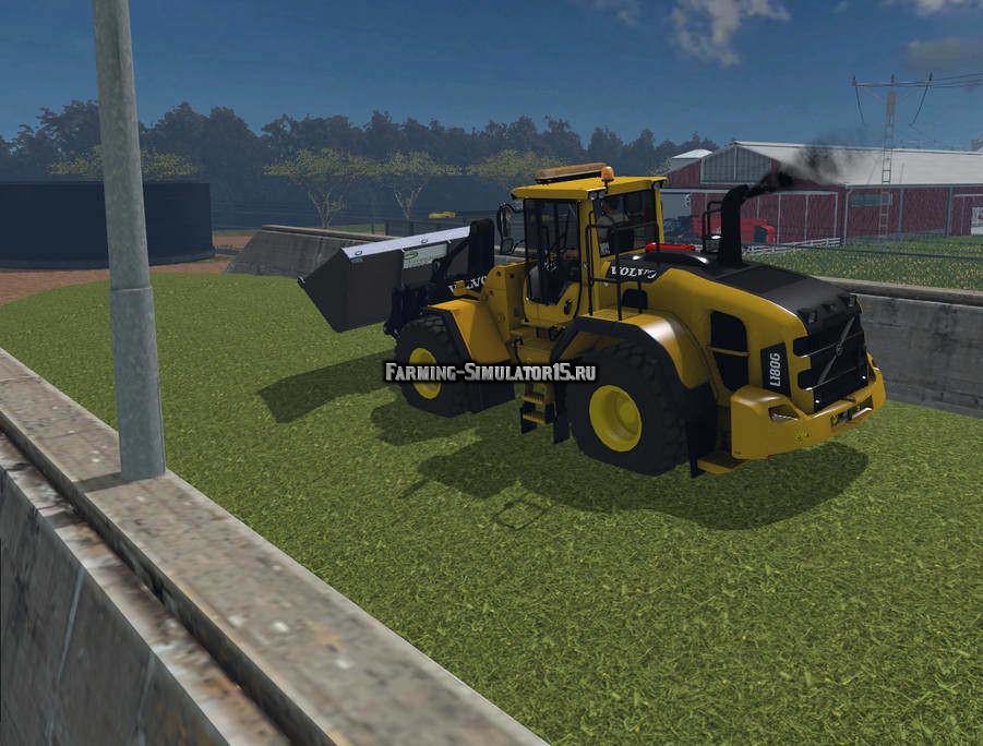 Мод погрузчик Volvo 180G v 1.0 Farming Simulator 2015