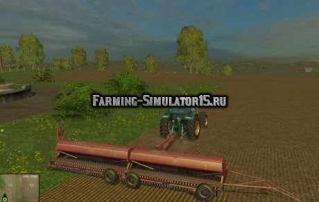 Мод сеялка IH6200 seeder pack v 2.0 Farming Simulator 2015