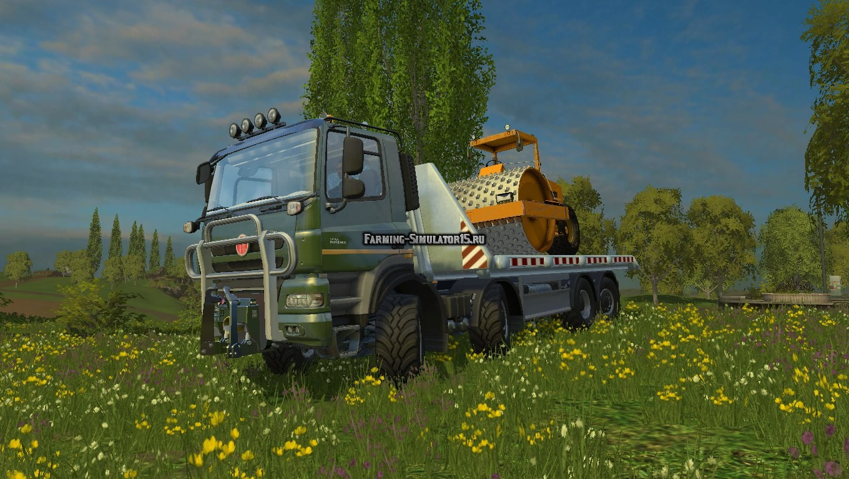 Мод Татра Tatra Phoenix Agro-Truck Hooklift Фермер Симулятор 2015