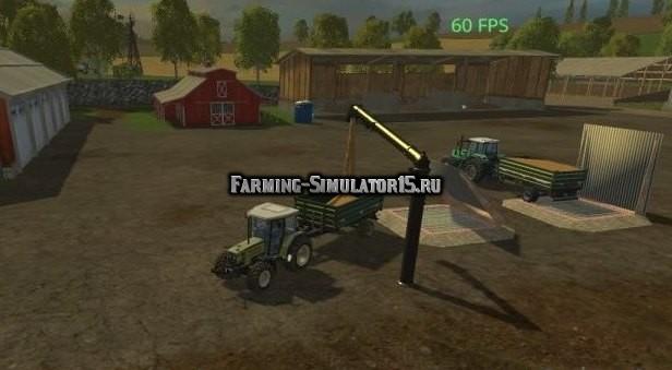 Мод TransferSite v 1.1 Farming Simulator 15