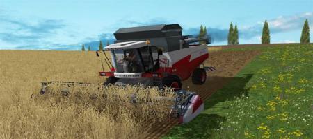 Мод комбайн Ростсельмаш ACROS 530 Фермер Симулятор 2015