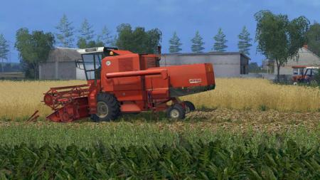 Мод комбайн BIZON Z-056 Farming Simulator 2015
