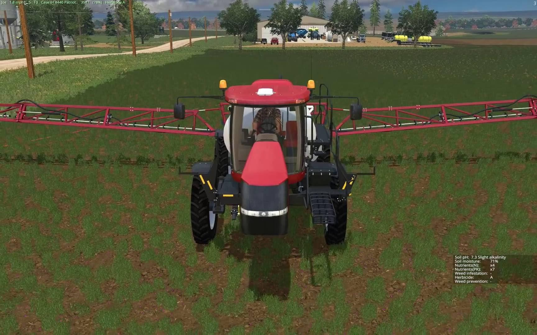 Мод Case IH 4440 Patriot Sprayer v 1.0 Farming Simulator 15