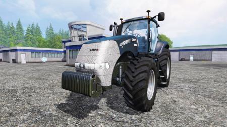 Мод трактор CASE IH MAGNUM CVT 435 Farming Simulator 2015