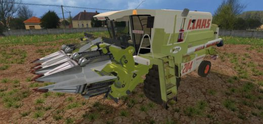 Мод комбайн Claas Mega 204 v 1.0 Farming Simulator 2015