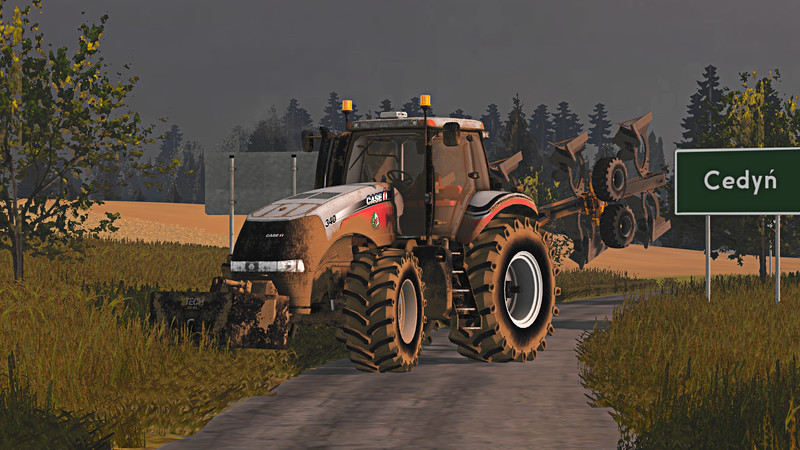 Мод трактор Case Magnum 340 V 1.0 Farming Simulator 15