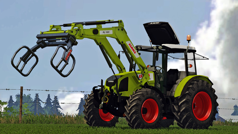Мод трактор Claas Axos 330 v 2.0 Farming Simulator 15