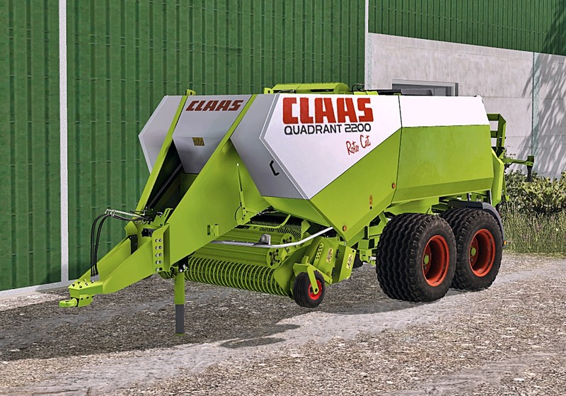 Мод тюкопресс Claas Quadrant 2200 Roto Cut v 1.0 Washable Farming Simulator 2015