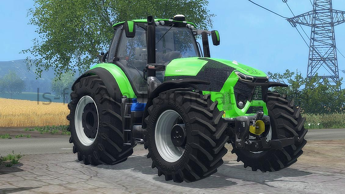 Мод трактор DEUTZ-FAHR 9340 V1.0 Farming Simulator 2015