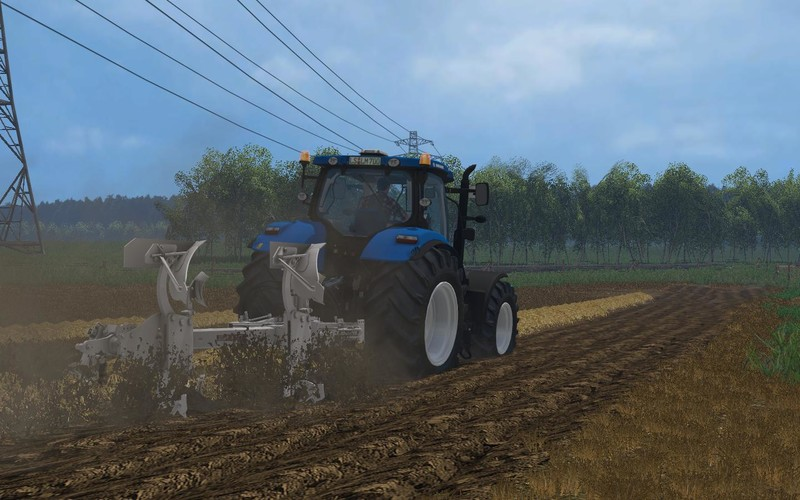Мод плуг Bivomere ER.MO FS V2 102 v 2.0 Farming Simulator 15