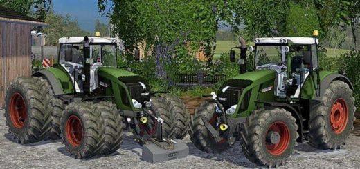 Мод трактор FENDT 828 VARIO FULL V1.0 Farming Simualtor 2015