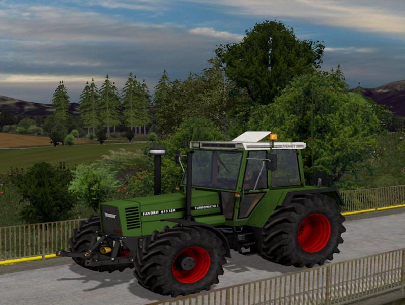 Мод трактор Fendt Favorit 615 LSA v 1.0 Wiht WheelShader Farming Simulator 2015