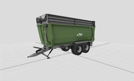 Мод прицеп FLIEGL TMK266 Farming Simulator 2015