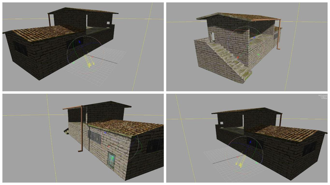 Мод FIENILE OLD GE V1.0 Farming Simulator 17