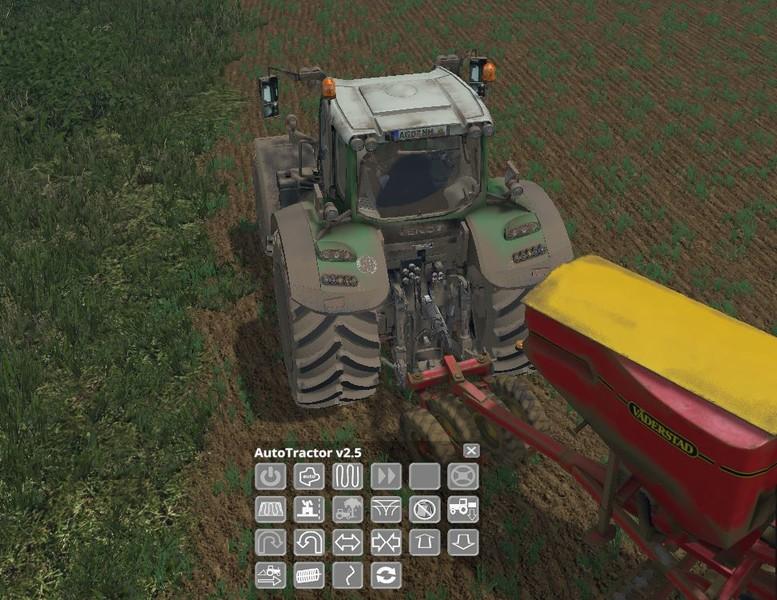 Мод автотрактор FS15 AutoTractor V 2.6 Farming Simulator 15