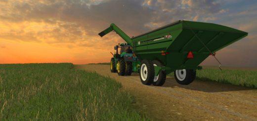 Мод прицеп FS15 J&M 1412 GRAINCART V1 Farming Simulator 15