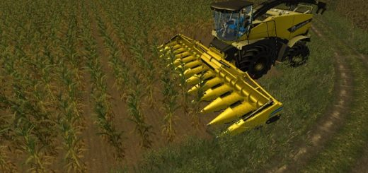 Мод жатка New Holland 12 Row Cutter for mash v 1.0 Farming Simulator 2015
