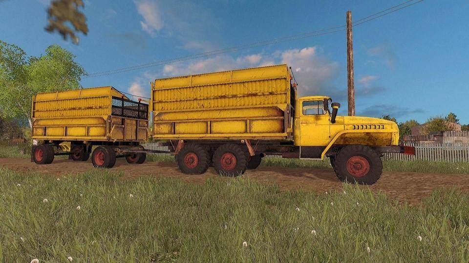 Мод грузовик Урал 5577 Фермер Симулятор 2015