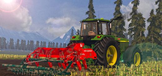 Мод культиватор Vogel & Noot TerraDigXS v 1.0 Farming Simulator 15