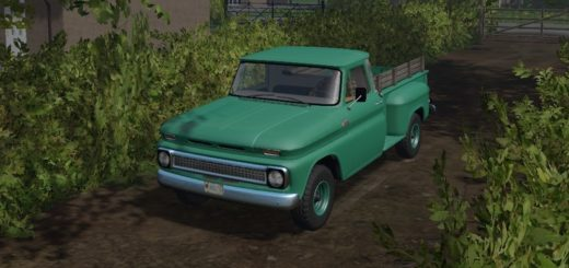 Мод авто FS17 1966 Custom Chevy 4×4 V 1 Farming Simulator 2017