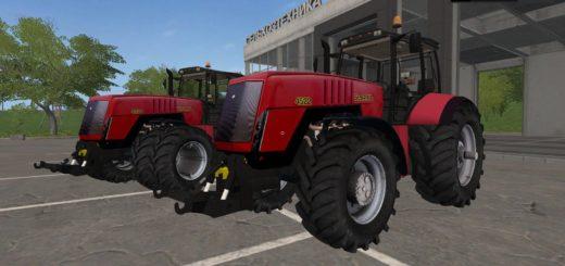 Мод трактор Беларус FS17 BELARUS 4522 V1.0 Farming Simualtor 2017